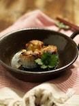 秋刀魚の梅ねぎロール