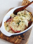 ジューシートマトのアンチョビチーズ焼き