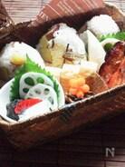 秋鮭のグリルのお弁当
