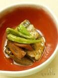 秋刀魚とごぼうの黒酢煮