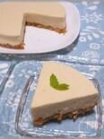 カルピスのレアチーズケーキ