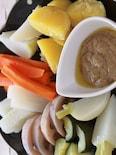 圧力鍋でお手軽温野菜のバーニャカウダ