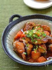 中華風ごまサバトマト