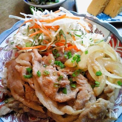 定番・豚の生姜焼き