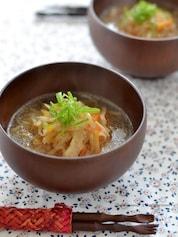 切り干し大根の食べるスープ