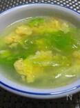 レタスと玉子のスープ