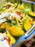 キャベツの甘さ感じる温野菜