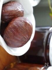 バニラ香る栗の渋皮煮