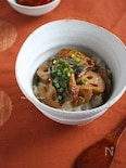 さんまと蓮根の生姜照焼き丼