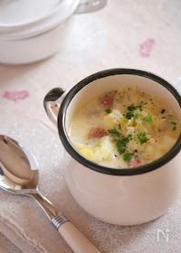 『白い冬野菜のミルクスープ。』
