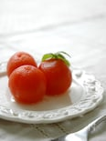 まるごとトマトのはちみつスイーツ。