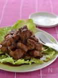 豚肩ブロックの山椒シャリアピンソース