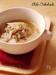 丸麦と大根のあっさり和風スープ