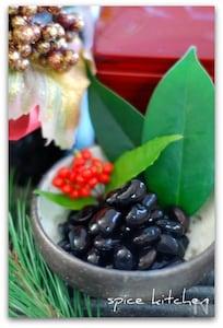 圧力鍋で作る黒豆