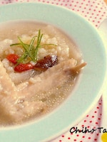 炊飯器で簡単!雑穀入り参鶏湯風スープ
