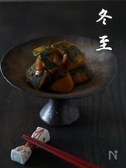 冬至に◆最中で簡単かぼちゃのいとこ煮◆