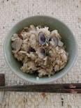 しじみと舞茸の炊き込みご飯
