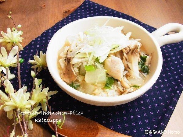鶏肉の生姜雑炊