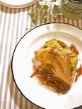 キャベツのオーブン焼き~アンチョビソース~
