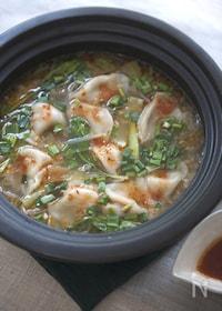『四川風な餃子鍋』
