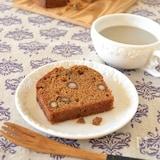 黒豆のほうじ茶パウンドケーキ