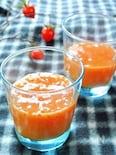 柿と柚子のスムージー