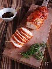 五香粉味噌の香ばし鶏チャーシュー