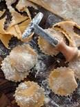 余った海老の甘煮でラザニア