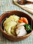 ハーブ塩豚の簡単和タリアンポトフ