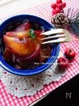 スパイスが香る りんごのカラメル煮