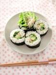 ごぼうサラダとアボカドの巻き寿司