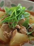 寒い日に!圧力鍋で作る大根の豚キムチ煮込み