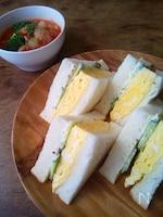 関西の玉子サンドイッチ
