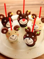 ホットケーキでも★ケーキポップス★