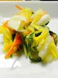 かつお風味の白菜の浅漬け