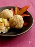 豆腐の蕎麦がき