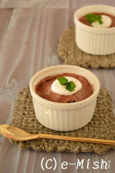 ムース レシピ チョコレート