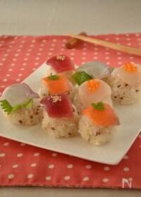 『お魚屋さんの手まり寿司』