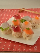 お魚屋さんの手まり寿司