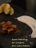 初めてのロー生チョコ
