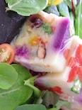 お花の山芋テリーヌ☆ひな祭りにも