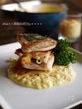 真鯛のポワレと長芋のガレット~お魚に合うカレーマヨソースで☆
