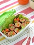 野菜の豚巻き ガーリック醤油