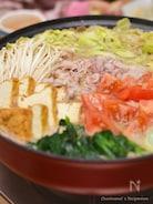 豚バラ生トマト鍋