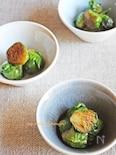芽キャベツのバタポンソテー