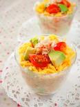 ひな祭りポテトサラダ