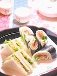 日本酒に合う 和風サンドイッチ 2種