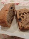 スペルト小麦とアーモンドのどっしりパウンドケーキ