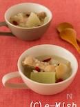 もち麦と大根のサムゲタン風スープ