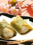 ごま餡の桜餅
